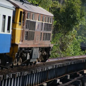 Nature & culture autour de Bangkok: River Kwai: Death Railway