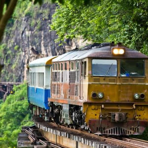 River Kwai Soft Adventure & Expérience avec les éléphants de Bangkok: River Kwai: Death Railway