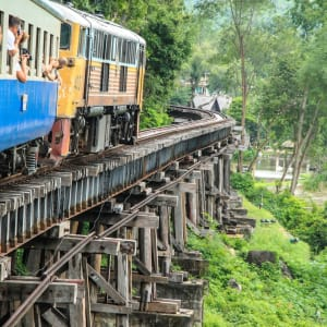 Thailand für Geniesser ab Bangkok: River Kwai: Death Railway