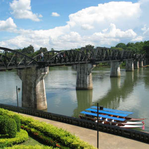Nature & culture autour de Bangkok: River Kwai: famous bridge
