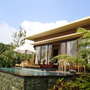 Munduk Moding Plantation Nature Resort à Nord de Bali: 1-Bedroom Pool Villa | from outside