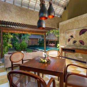 Space Villas Bali in Südbali:  1-Bedroom Villa | outdoor living area