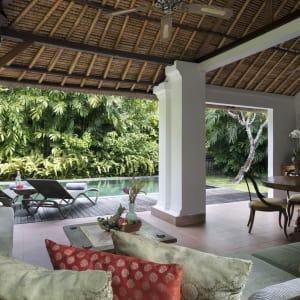 The Pavilions Bali in Südbali: 2-Bedroom Pool Villa | Outdoor Living Area