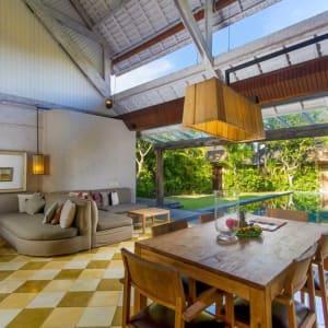 Space Villas Bali in Südbali:  2-Bedroom Villa | open living area