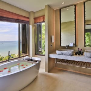 Pimalai Resort & Spa à Ko Lanta: Bayfront Deluxe Bathroom