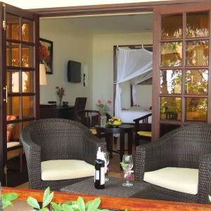 Cham Villas in Phan Thiet: Beach Front Villa | Patio