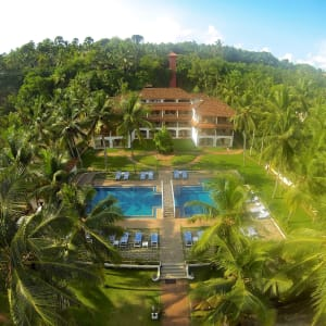 The Travancore Heritage à Kovalam: Beach Grove | Airial View