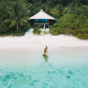 Bawah Reserve: Beach Suite | from the beach