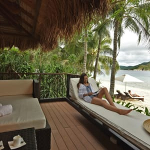 El Nido Resorts Pangulasian Island in Palawan: Beach Villa