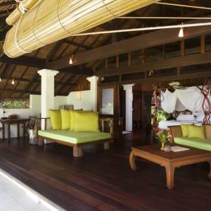 Koyao Island Resort in Ko Yao: Beach Villa Suite | Living area