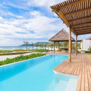 The Royal Sands Koh Rong in Sihanoukville & Inseln: Beachfront Pool Villa