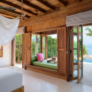 Six Senses Ninh Van Bay in Nha Trang: Beachfront Pool Villa twin
