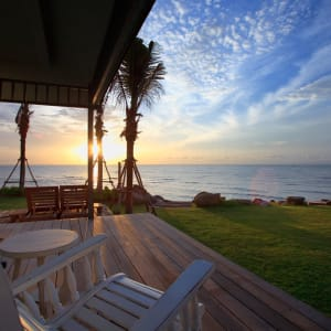 Devasom Hua Hin Resort: Beachfront Villa