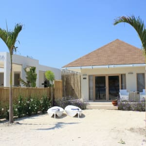 Mahamaya in Gili: Beachfront Villa
