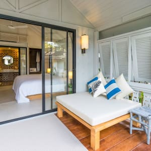 Paradise Beach Resort in Ko Samui: Beachfront Villa