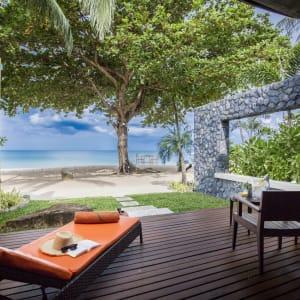 New Star Resort à Ko Samui: Beachfront Villa | Terrace