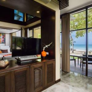 New Star Resort à Ko Samui: Beachfront Villa | View to the Terrace