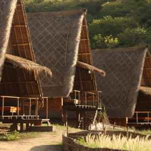 Jeeva Beloam Beach Camp in Lombok: Beruga Pantai | from outside