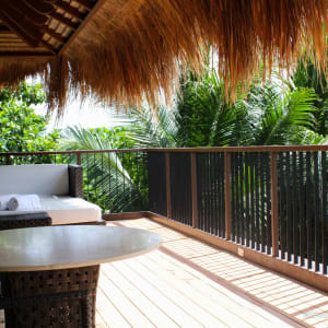 El Nido Resorts Pangulasian Island in Palawan: Canopy Villa   Veranda
