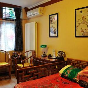 Beijing Double Happiness Courtyard in Peking:  Chinese-style Deluxe Room | double