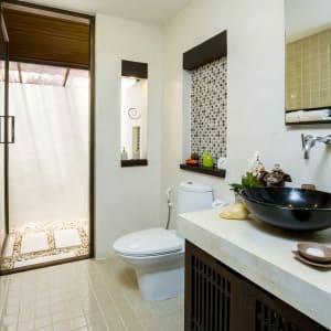 New Star Resort à Ko Samui: Cottage | Bathroom