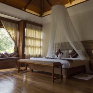 Popa Garden Resort in Bagan: Deluxe Balcony