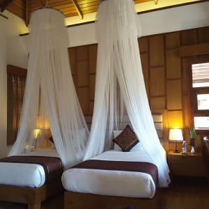 Popa Garden Resort in Bagan: Deluxe Balcony | Bedroom