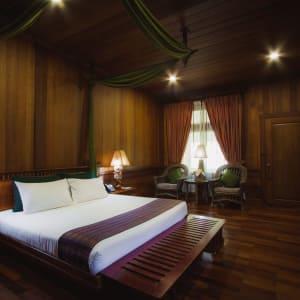 Rupar Mandalar in Mandalay:  Deluxe Balcony   Deluxe Double Bedroom