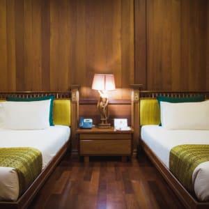 Rupar Mandalar in Mandalay:  Deluxe Balcony   Deluxe Twin Bedroom