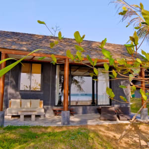 Twin Lotus à Ko Lanta: Deluxe Beachfront Villa