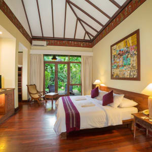 The Hotel @ Tharabar Gate in Bagan: Deluxe | Bedroom