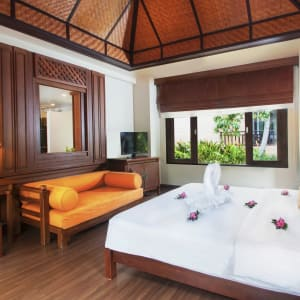 Fair House Beach Resort & Hotel à Ko Samui: Deluxe Bungalow | Bedroom