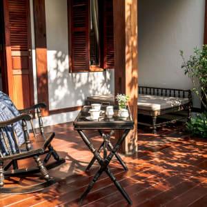Burasari Heritage in Luang Prabang: Deluxe Garden   Deluxe Balcony   Terrace