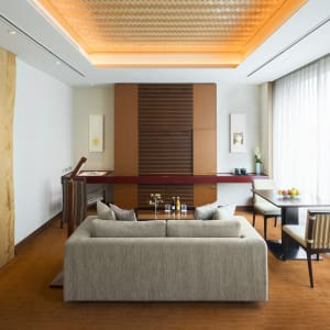 The Peninsula in Tokio: Deluxe |  Living Area