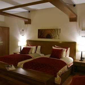 Sanctum Inle Resort in Inle Lake: Deluxe MB red
