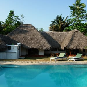Marari Beach Resort in Mararikulam: Deluxe Pool Villa
