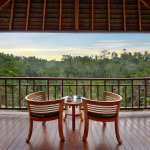 Jannata Resort & Spa in Ubud: Deluxe Suite | Balcony