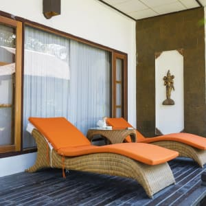 Thande Beach Hotel in Ngapali: Deluxe Thande Partial Seaview (Bungalow)