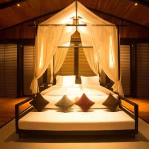 Taj Exotica Resort & Spa in Andamanen: Deluxe Villa   Bed