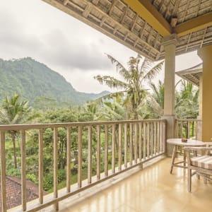 Wapa di Ume Sidemen à Ouest de Bali: Di Ume Suite | Balcony