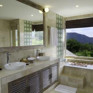 Wapa di Ume Sidemen à Ouest de Bali: Di Ume Suite | Bathroom