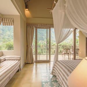 Wapa di Ume Sidemen à Ouest de Bali: Di Ume Suite | Master bed