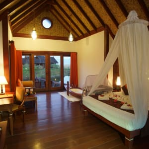 Pristine Lotus Resort à Lac Inle: Floating Cottage