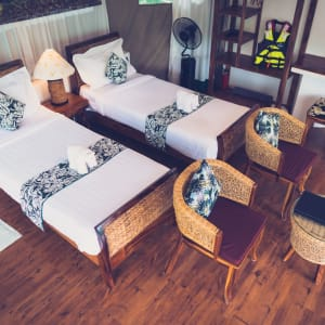 4 Rivers Floating Lodge Package de Phnom Penh: room: Floating Tent | Bedroom