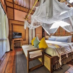 Le Siam royal de Bangkok: room: Floating Villa