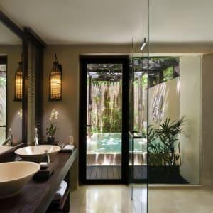 Anantara Rasananda Koh Phangan Villas in Ko Phangan: Garden Pool Suite | Bathroom