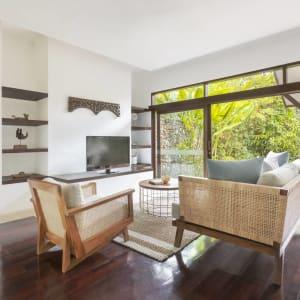 The Pavilions Bali in Südbali: Garden Villa | Living room