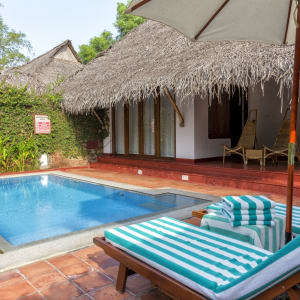 Marari Beach Resort in Mararikulam: Garden Villa with private pool
