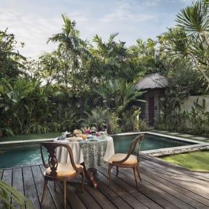 The Pavilions Bali in Südbali: In-villa Breakfast