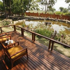 Pristine Lotus Resort in Inle Lake: Inle Lotus Villa | Terrace